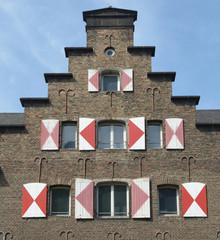 Giebel Zeughaus in Köln