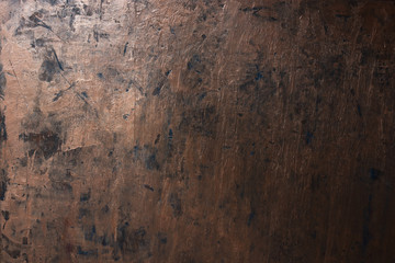 Grunge copper metal texture