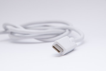 USB type C to type B charging cable