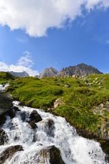 Quellgebiet der Reuss im Gotthardmassiv