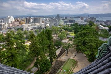 松江の町並み