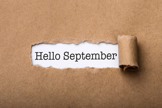 Hello September Paper Tear