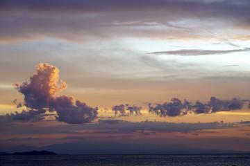空 雲 夕暮れ