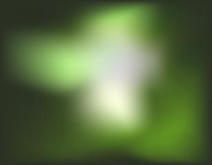 A green blur wallpaper