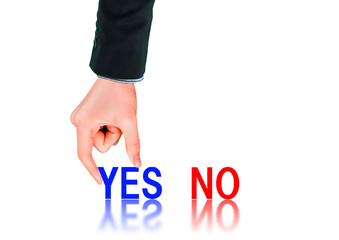 Select Yes or No