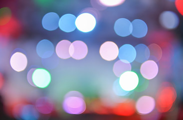 colorful party lights background
