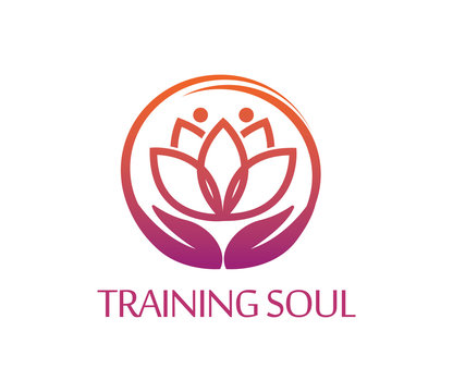 Vector Illustration : Training Soul Logo Design