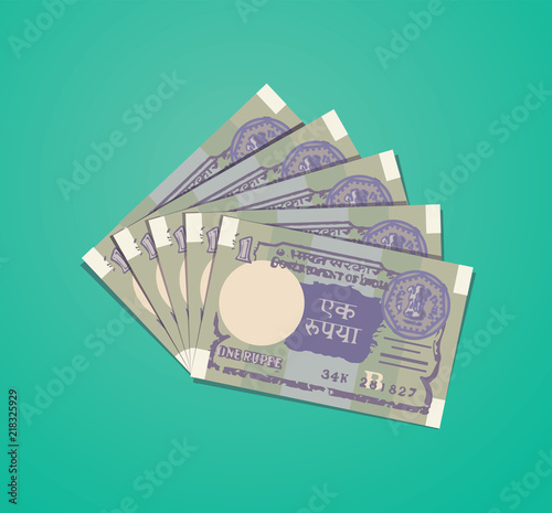 One-rupee-OLD-indian-note-vector