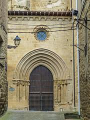 Laguardia. Pueblo de Alava en el Pais Vasco cerca de Vitoria - España