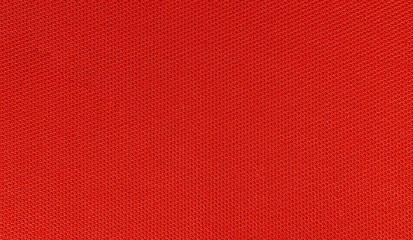 texture of fabric red color mesh pattern