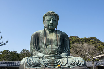 Bronze statue of Buddha in Kamakura