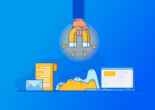 Attracting online customers. Inbound marketing.