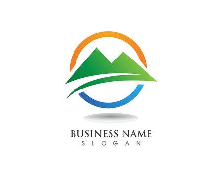 Mountain logo and symbols