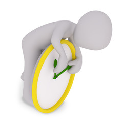 teaching the time