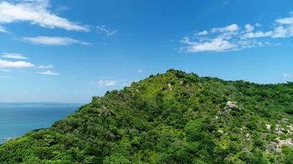 Wall Mural - 山の風景 ドローン撮影 立石山
