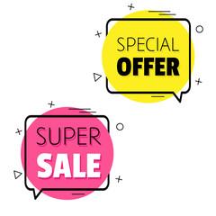 Special offer. Super Sale