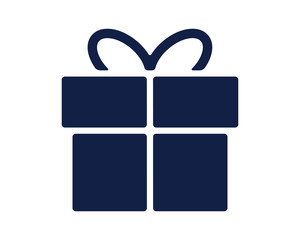 gift glyph icon , designed for web and app