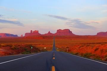 Oljato Monument Valley navajo tribal park in Utah USA