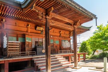 Japanese Temple Doorstep