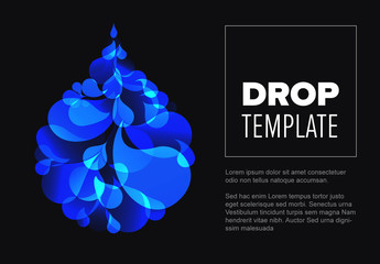 Banner Layout with Droplet Element