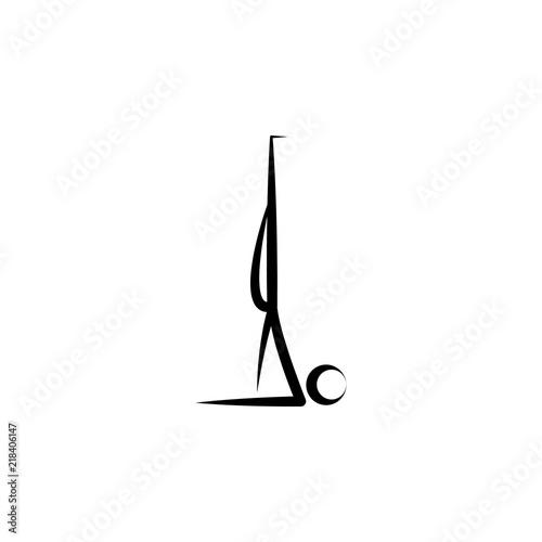 Yoga Icon Element Of Healthy Life Icon Premium Quality Graphic