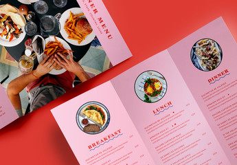 Hungry Diner Menu Layout