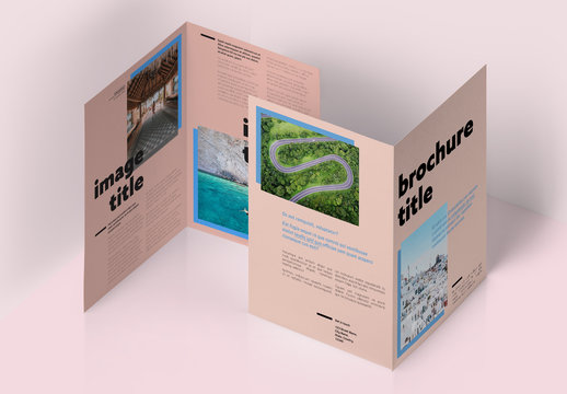 Wanderlust Brochure Layout