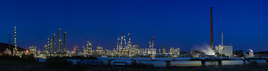 Chemical Plant Panorama