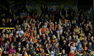 Super League - Super 8's - Castleford Tigers v Warrington Wolves