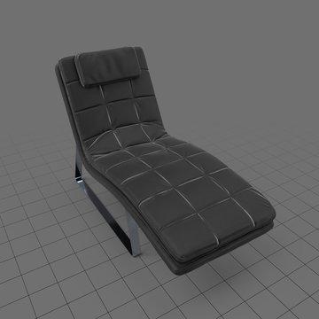Modern chaise lounge
