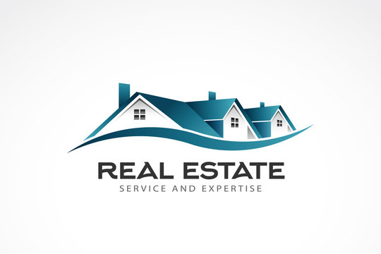 Real Estate Houses Logo. Vector illustration