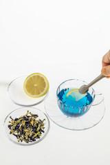 きれいになるハーブティー Colorful herb tea