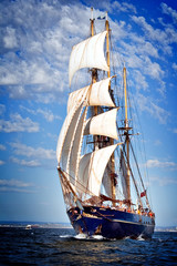 Wall Murals Ship sailing ship