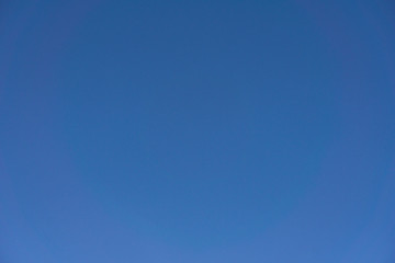 Plain blue color sky background for powerpoint and any media presentation.