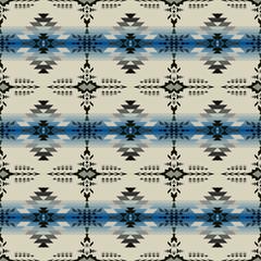 Native Southwest American,Indian, Aztec, geometric seamless pattern.