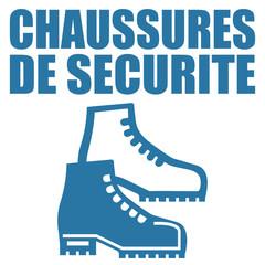 Logo chaussures de sécurité.