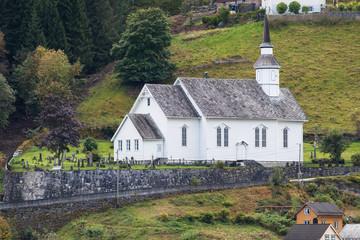 Sunnylven Church in Hellesylt