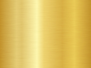 Brushed metal texture. Vector gold background. Seamless gold metal texture. Wall mural