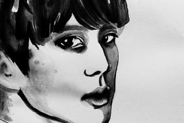 Tristesse drawing