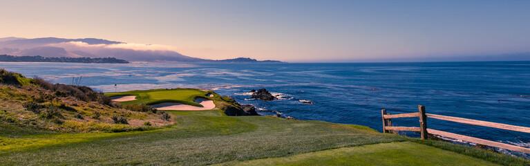 Pebble Beach golf course, Monterey, California, USA Wall mural