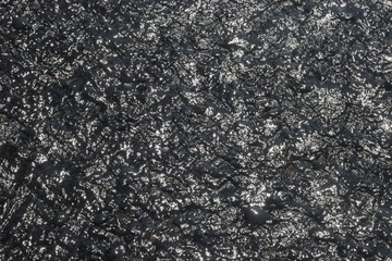 Black Beach Sand with Water for Blur