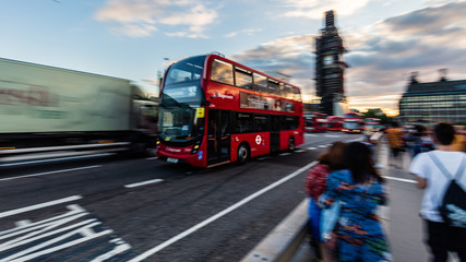 The Red Busses of London
