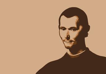 Machiavel - portrait - penseur - personnage - historique - célèbre - politique - écrivain - renaissance