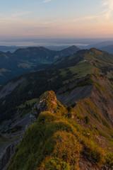 Austrian mountain cliff