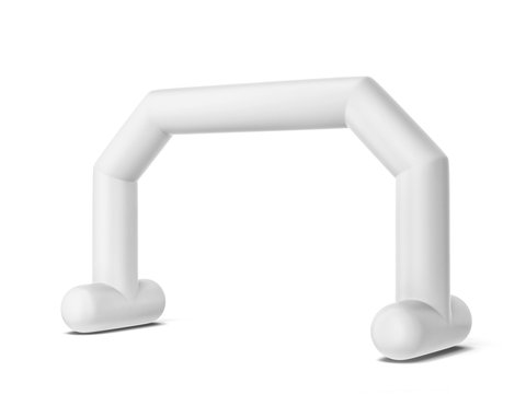 Inflatable promotion arch mock up