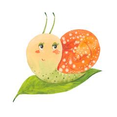 cute little snail
