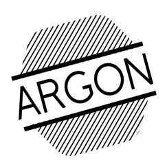 argon black stamp