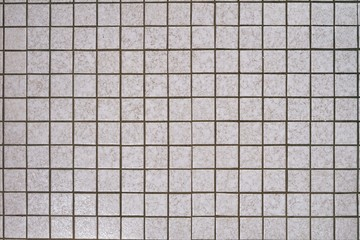 Alte Mosaikfliesen Vintage, Bodenfliesen hell