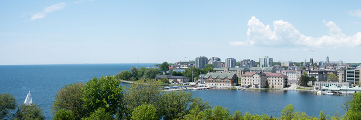 Panorama of Kingston, Ontario from Fort Henry