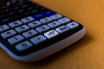 Key x10 of a scientific calculator